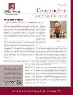 Construction Communicator: Winter 2018