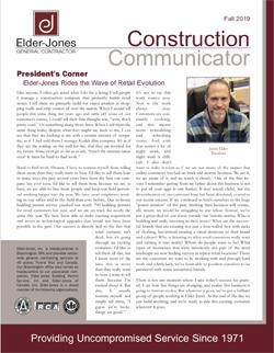 Construction Communicator Fall 2019 Thumbnail